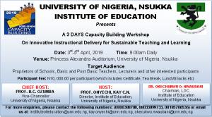 Institute of Education Workskop Banner